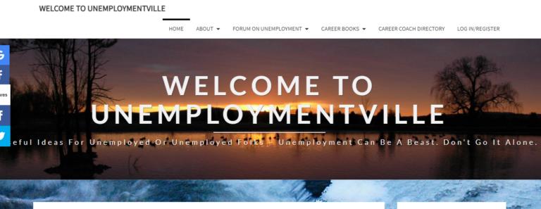 Unemploymentville.com's website