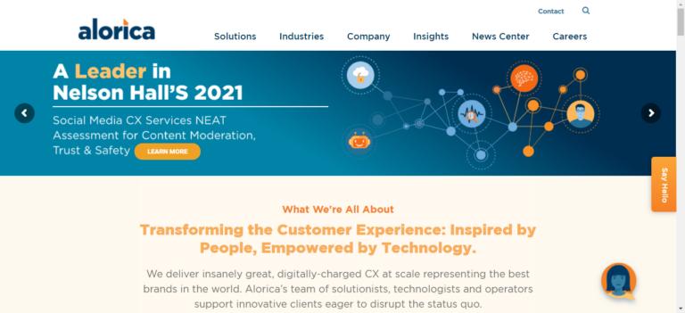 Alorica.com career website