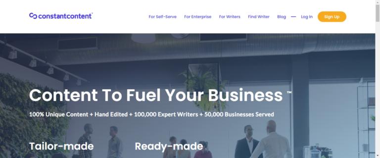 Constant Content Website