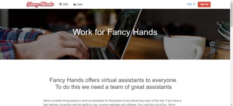 Fancyhands career website
