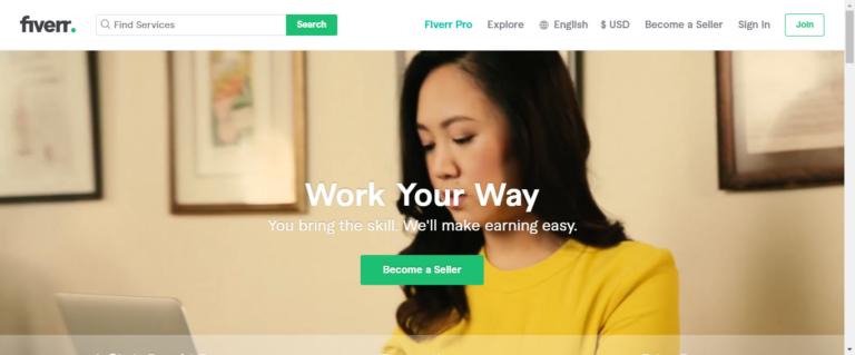 Fiverr career website