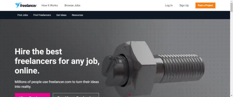 Freelancer career website