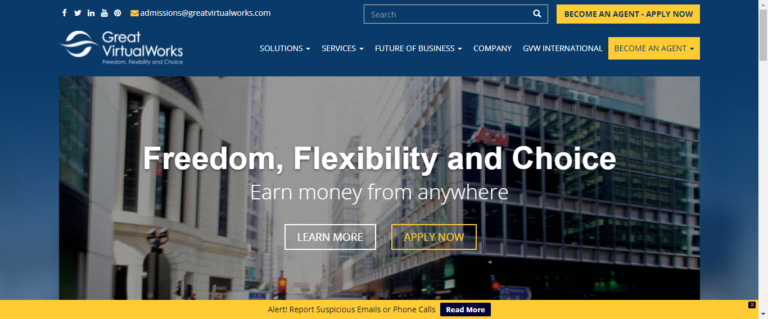 Great Virtual Works Website