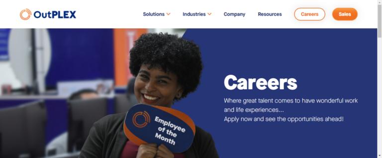 Outplex career website