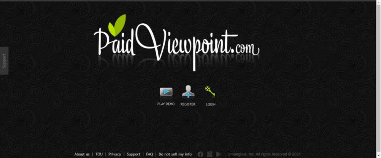 Paidviewpoint website