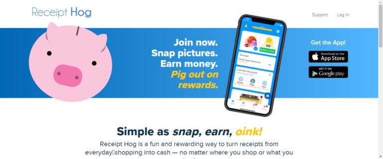 ReceiptHog website