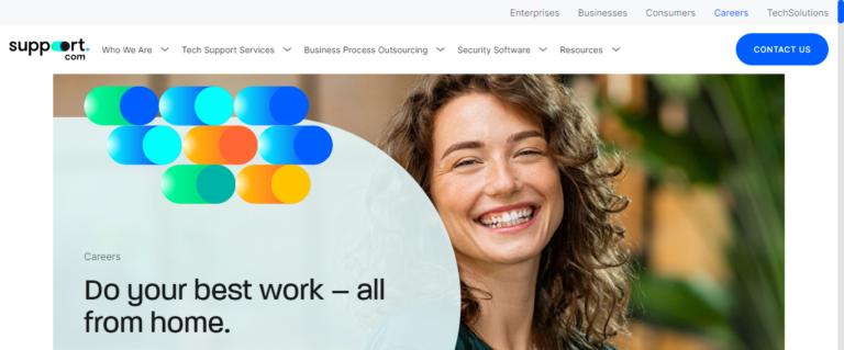 Support.com career website