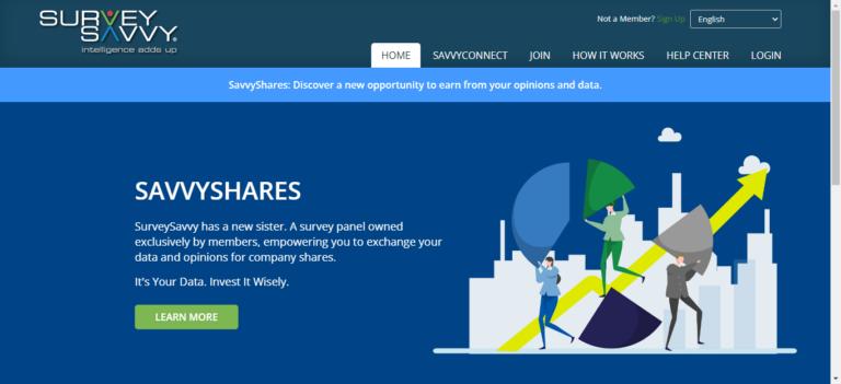 Surveysavvy website