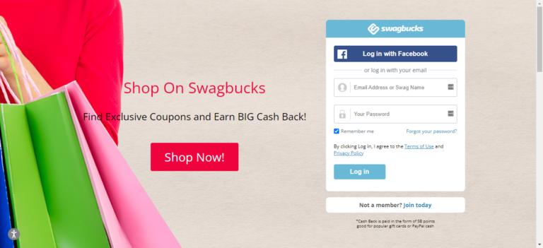 Swagbucks website