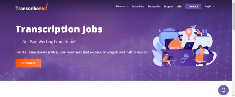 TranscribeMe Website - Moneyupper