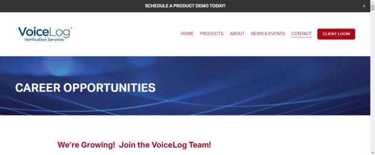 Voice log website