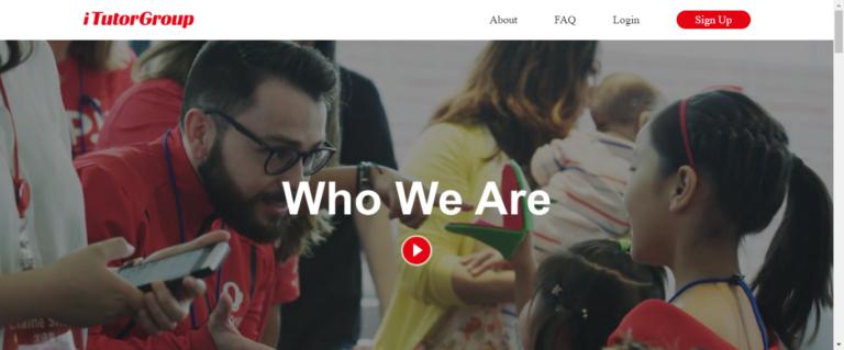 iTutorgroup Website
